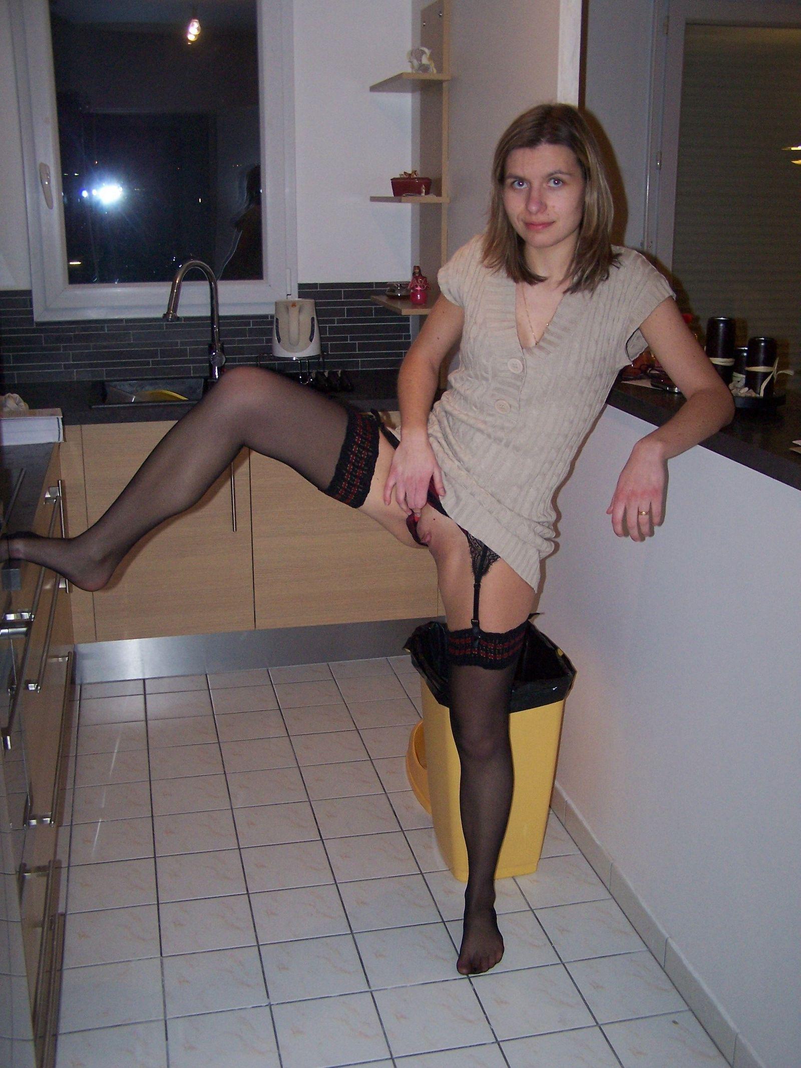 Молодая жена любит возбуждать